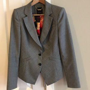 Ted Baker 2pc Women's wool jacket & skirt. Size 1.